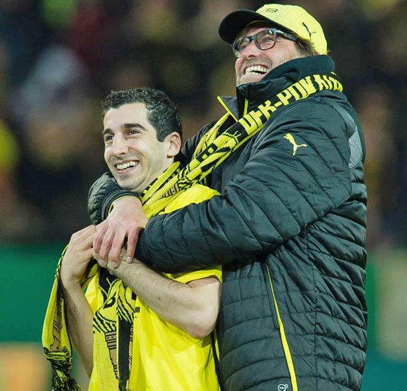 Mkhitaryan paid credit to former boss Jurgen Klopp