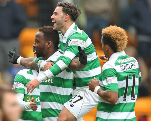 Moussa Dembele was speaking after his hat-trick against St Johnstone today