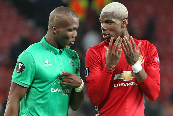 Much of the pre-match focus was on the battle between the Pogba brothers
