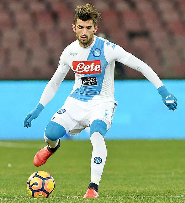 Elseid Hysaj at Napoli