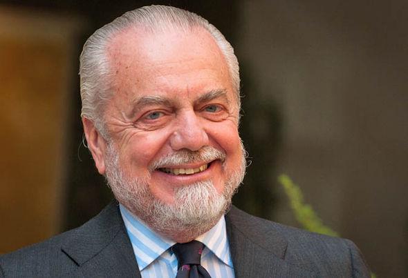 Napoli president Aurelio De Laurentiis