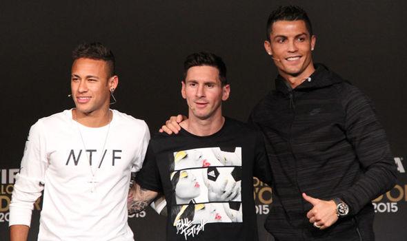 Neymar, Messi, Ronaldo
