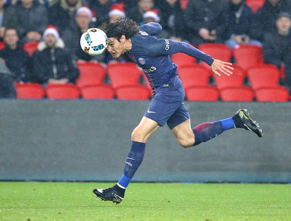 Edinson Cavani at PSG
