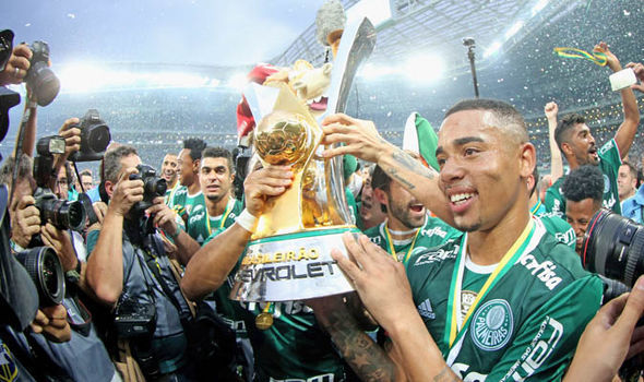 Gabriel Jesus wins the Brazilian title