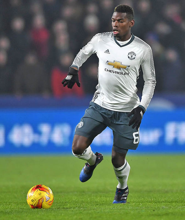 Paul Pogba at Man United