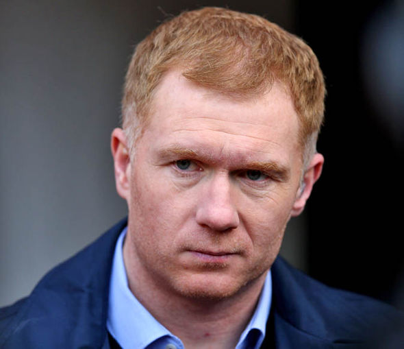 Paul Scholes doesn't want Rooney joining another Premier League club