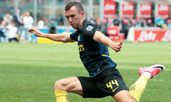 Inter Milan forward Ivan Perisic