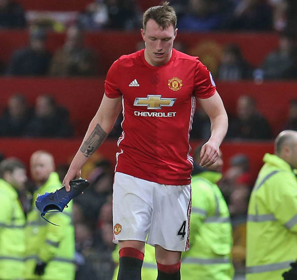Phil Jones says he should be fit to face Leicester this weekend