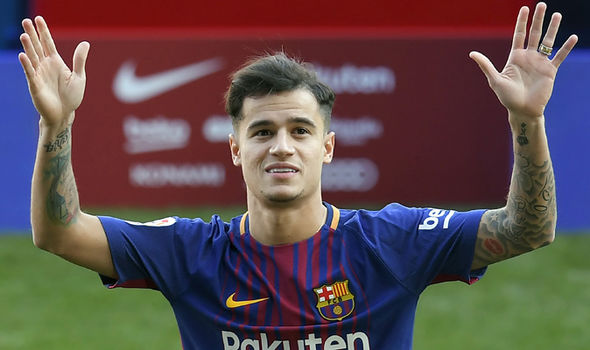 Philippe Coutinho  Liverpool news: Alex Oxlade-Chamberlain reveals thoughts on Philippe Coutinho transfer | Football | Sport Philippe Coutinho 1191217