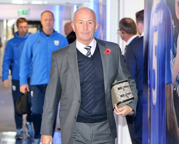Pulis at West Brom
