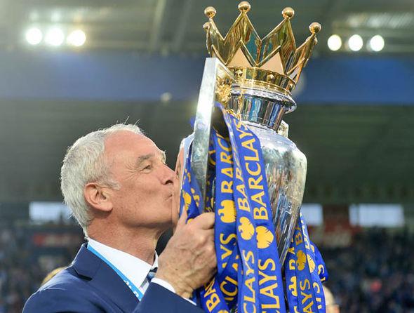 Ranieri led Leicester to a historic Premier League title last season