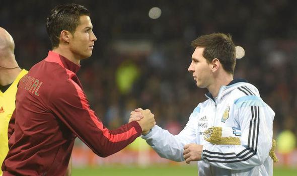 Real Madrid Barcelona Messi Ronaldo