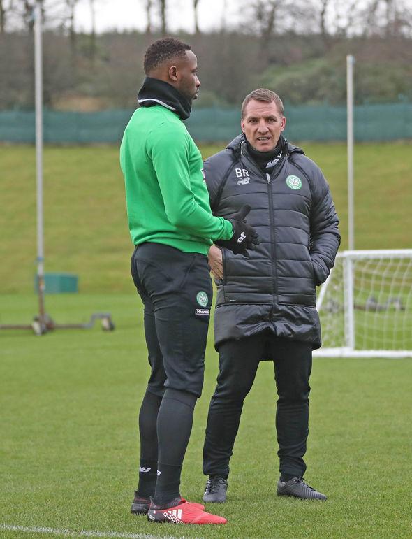 Brendan Rodgers Moussa Dembele Celtic