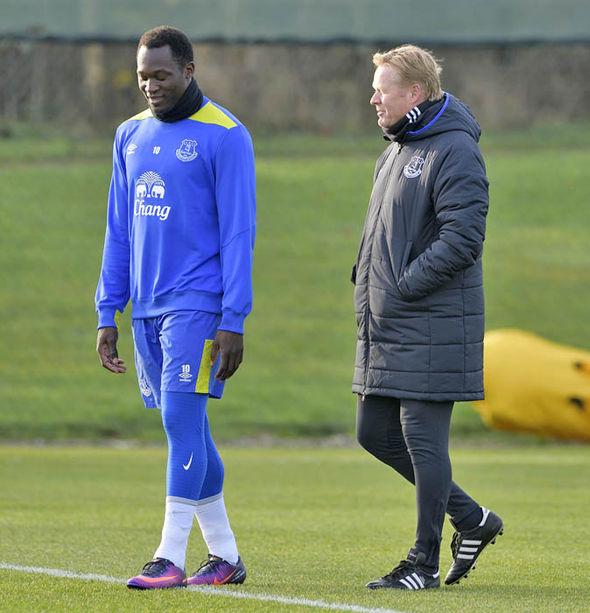 Ronald Koeman Romelu Lukaku Everton