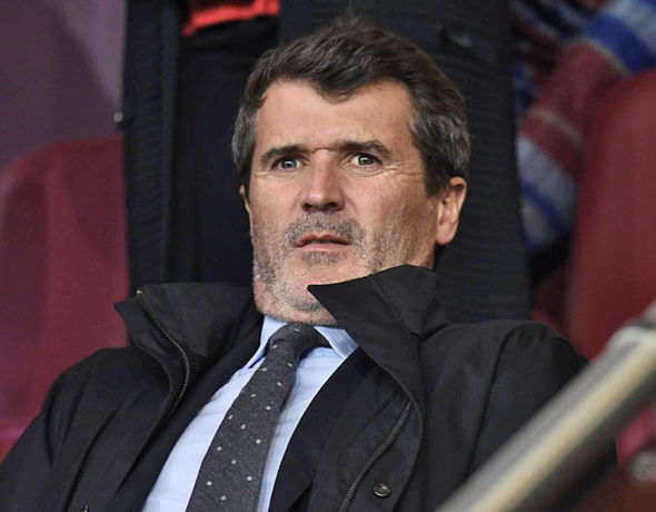 Roy Keane was watching in the stands as Burnley drew with Chelsea