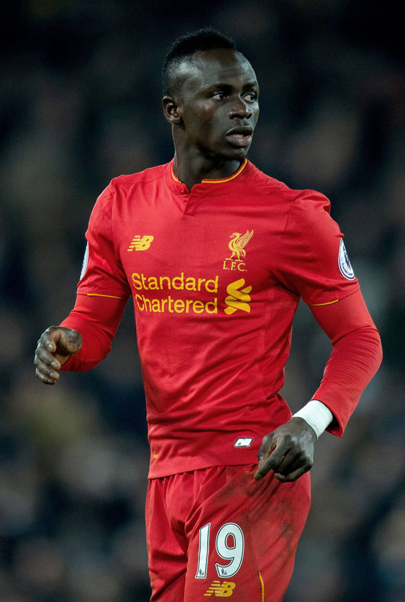 Liverpool attacker Sadio Mane