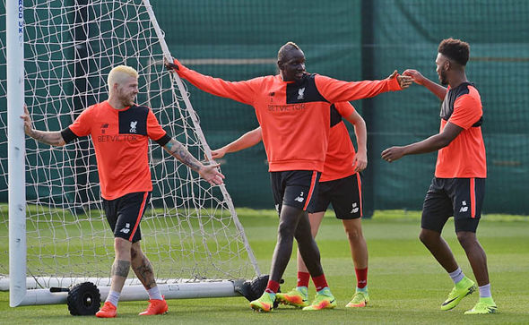Sakho has not played a single minute for Liverpool's first team this season