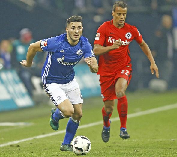 Schalke left-back Sead Kolasinac