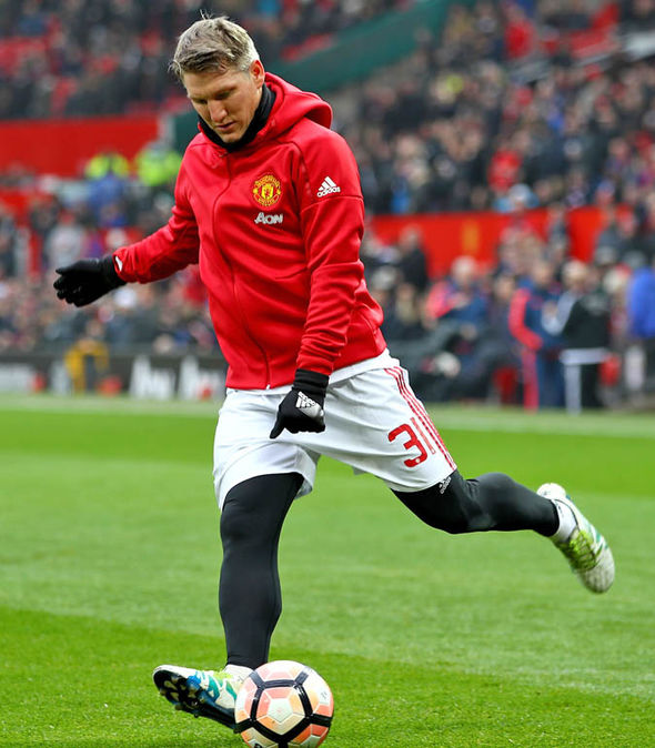 Bastian Schweinsteiger at Man Utd
