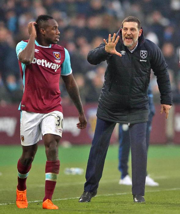 Slaven Bilic West Ham Michail Antonio