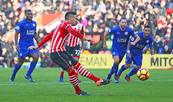 Dusan Tadic Southampton Leicester