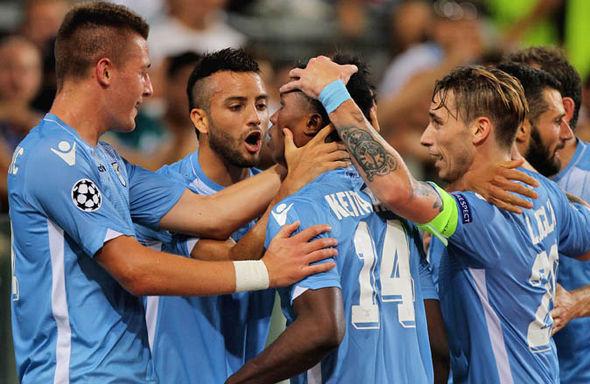 The Lazio striker