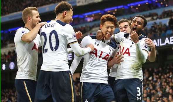 Tottenham score at White Hart Lane