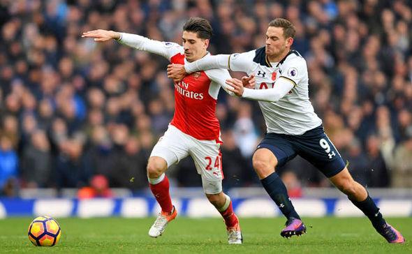 Tottenham striker Janssen