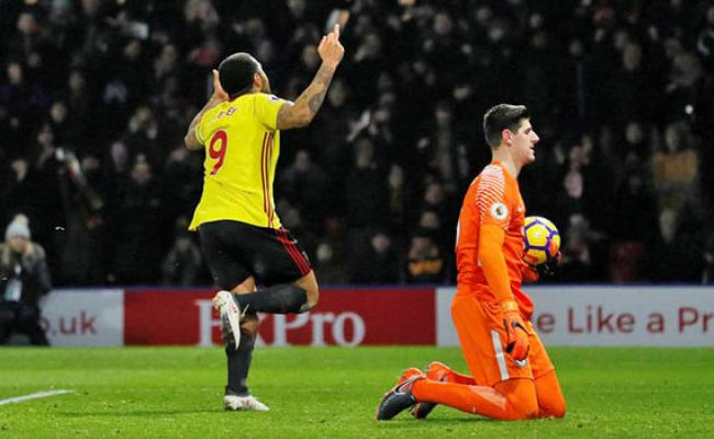 Troy Deeney Watford Ace Faces Swearing Ban From Chelsea