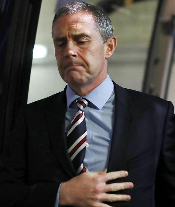 Rangers assistant boss David Weir