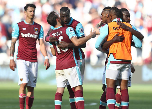 West Ham had lost their last five games prior to kick-off