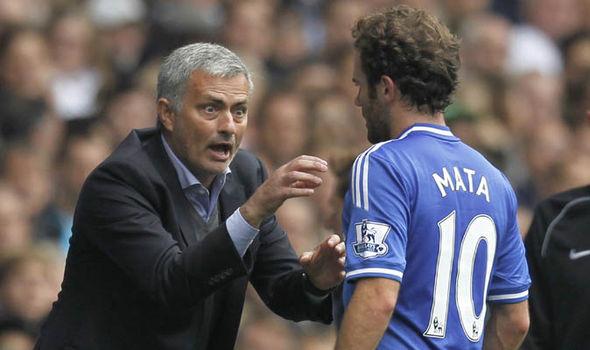 Manchester United Juan Mata Jose Mourinho