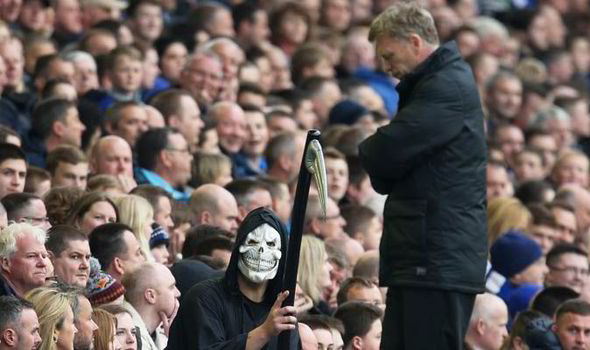 David Moyes meets the Grim Reaper