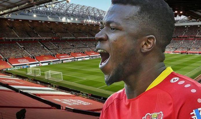 Manchester United scouting Bayer Leverkusen star Edmond Tapsoba after tip-off