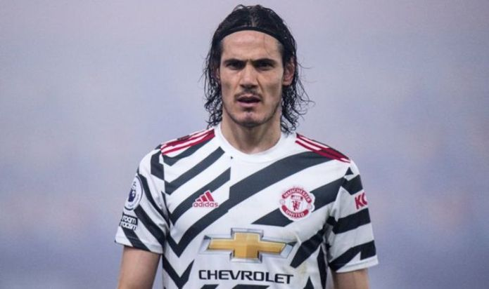 Edinson Cavani releases five-word statement after father claims Man Utd star is unhappy