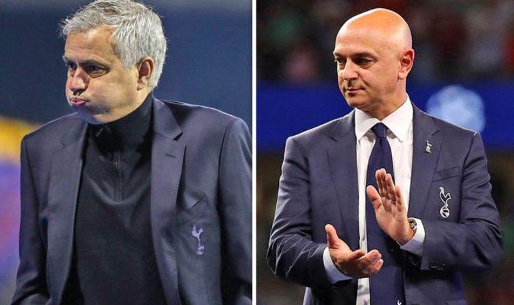Tottenham boss Jose Mourinho's unhappiness with Daniel Levy emerges before Aston Villa