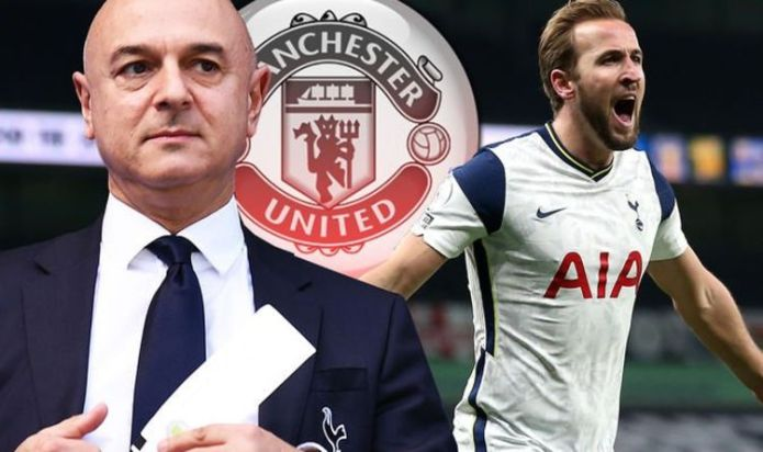 Tottenham chief Daniel Levy makes Harry Kane to Manchester United transfer decision