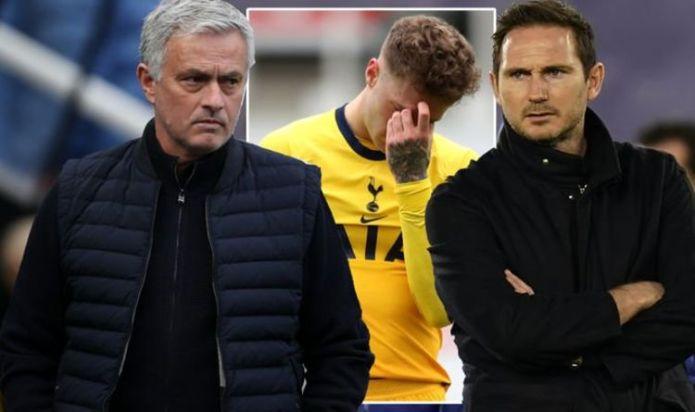 Tottenham boss Jose Mourinho risks Frank Lampard Chelsea sack repeat after brutal comment