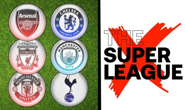 Man Utd, Liverpool, Arsenal and Spurs complete British withdrawal from Super League