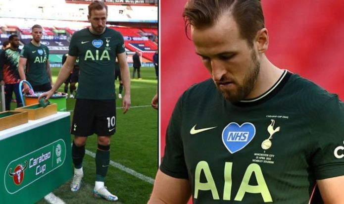 Tottenham face Harry Kane transfer problem after Man City defeat in Carabao Cup final