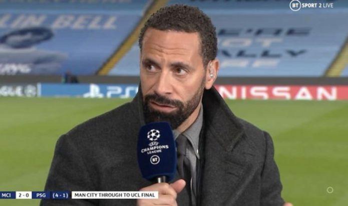 Rio Ferdinand picks out five Man City stars key to reaching first Champions League final
