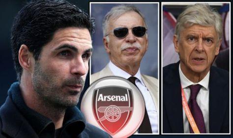 Mikel Arteta makes Arsene Wenger Arsenal claim with ruthless Stan Kroenke transfer warning