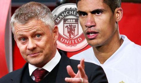 Man Utd 'to make £40m Raphael Varane transfer bid' as Ole Gunnar Solskjaer demands signing