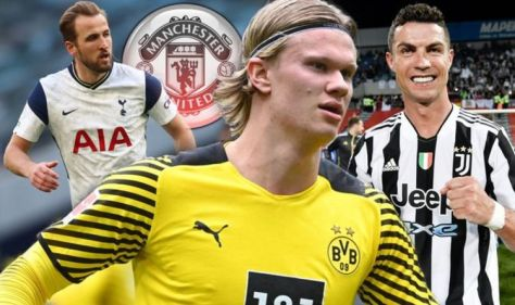 Man Utd sent Erling Haaland transfer reminder amid Harry Kane and Cristiano Ronaldo talk