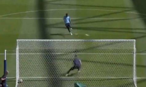 Man City goalkeeper Ederson shames David De Gea with penalty in Champions League training