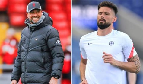 Liverpool sweat on Olivier Giroud transfer so Jurgen Klopp can land key target