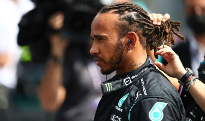 Lewis Hamilton condemns 'disgusting behaviour' of England fans after Euro 2020 heartbreak