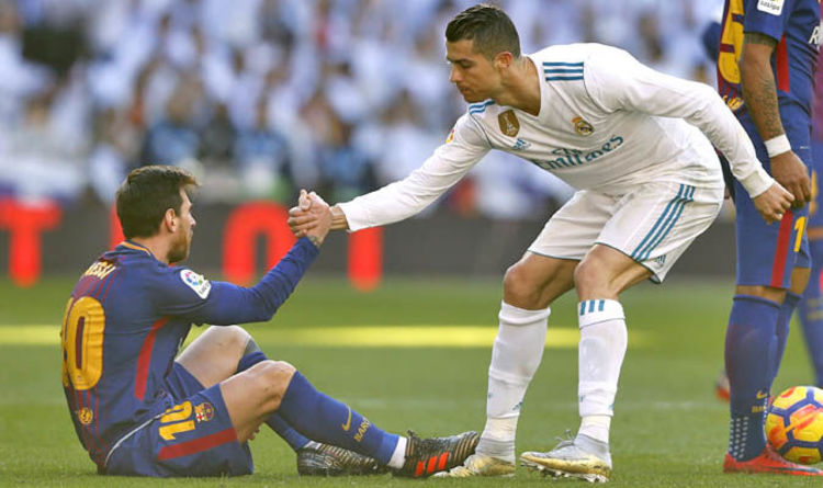 Image result for Ronaldo dares Lionel Messi to leave Barcelona for Serie A