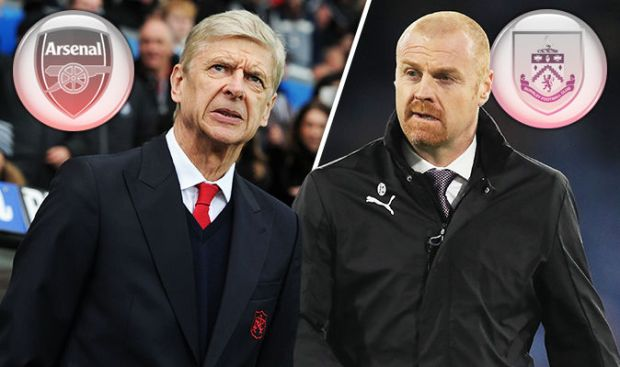 Arsenal v Burnley live blog