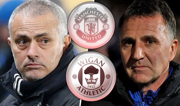 Manchester United v Wigan live blog